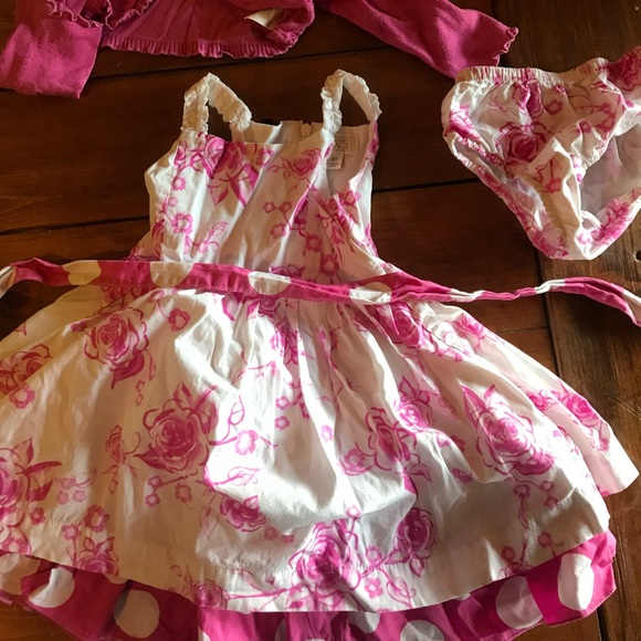 Children's Place pink/white floral dress